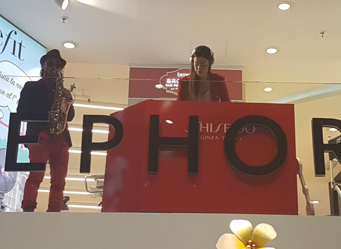 Podio Shiseido c/o Sephora CVE